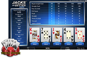 Video Poker Gratis - Jotas o Mejor